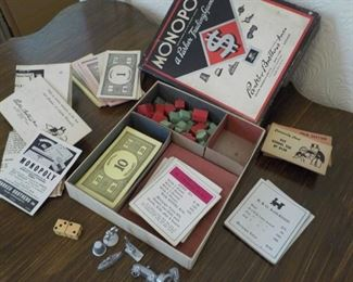 1947 Short Monopoly Game  $15