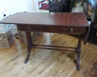 Side table, 2 drop-leaf   $75