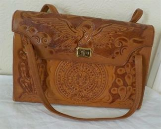 Vintage Mexican leather  purse  $18