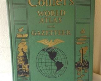 Vintage Colliers Atlas, 1942,  $15