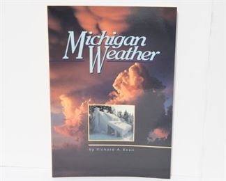 B1  31 Copies of Michigan Weather by Richard Keen.    $19.95
