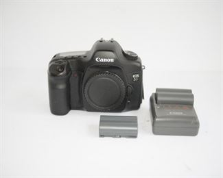 C31  Canon EOS 5D Digital Camera with two batteries and charger      $394.95