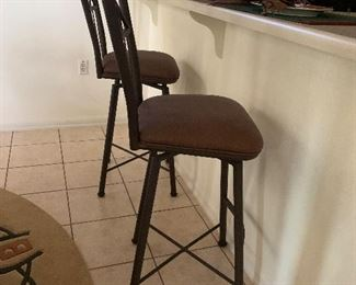 $85 - each two available Metal  bar stools