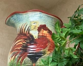 $32~  ROOSTER PITCHER