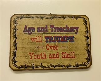 $16~AGE SIGN