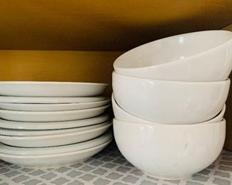 Pottery Barn and Pier One Dinnerware
