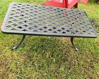 Metal Outdoor Table