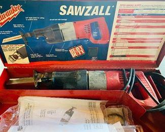 Milwaukee Sawzall