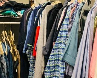 Men's Clothing Size L