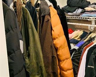 Men's and Women's Outerwear, Designer Brands