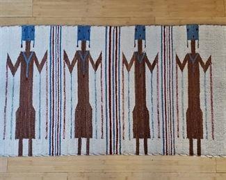 Navajo Yei rug
