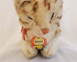 Steiff Snurry kitten