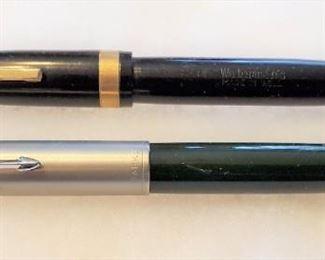 Vintage PARKER 51 & WATERMANS EMBLEM Pens