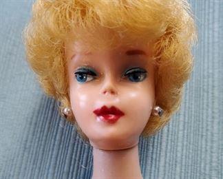1961 Mattel BARBIE Blonde Bubble Cut Fashion Doll