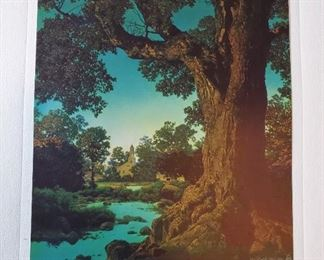 1950 Maxfield Parrish Beautiful America Print Portfolio COMPLETE with four prints