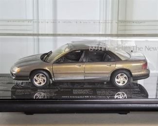 Official 1993 Chrysler Promotional Diecast Cars