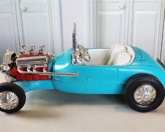 1963 Mattel BARBIE & KEN Roadster Hot Rod Car