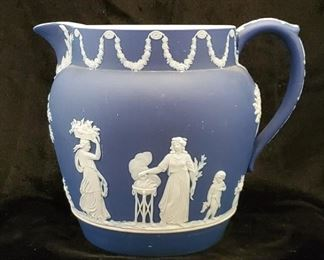 Wedgwood pottery pitcher