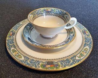 LENOX Autumn China 12 Plates 11 Cups & Saucers
