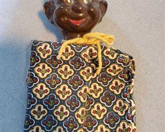Walt Disney Productions Dopey hand puppet, black version