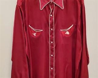 1940s Levi Strauss cowboy shirt
