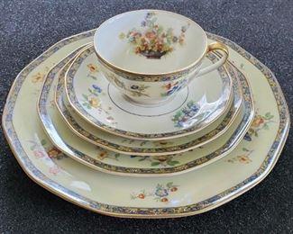 1920s Set Theodore Haviland Limoges Montreux Dishs