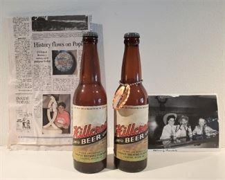 Hillcrest Beer bottles from Casper, Wyoming  & photo