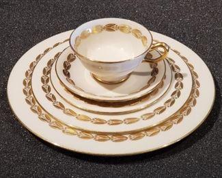 Set for 10 LENOX Antoinette M356 Porcelain Dishes