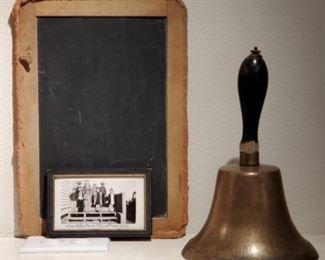 1936 Photo School Bell & Slate Careyhurst Wyoming