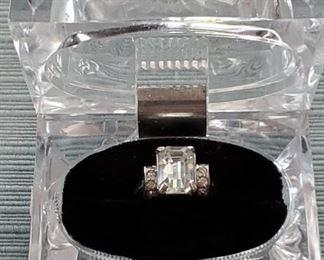 Vintage Eisenberg Sterling Silver Ring