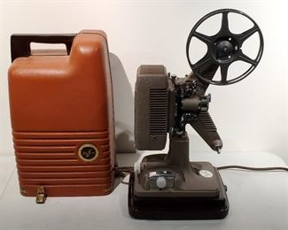 1940s Revere Model 48 16mm Film Projector & Screen