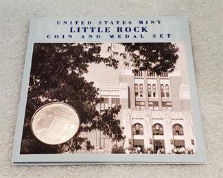US Mint Little Rock Desegregation Silver Dollar