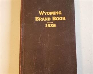 1936 Wyoming Brand Book