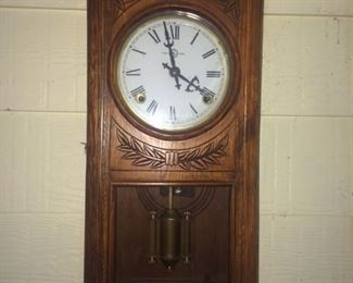 neat vintage clock