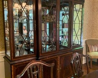 Formal China Cabinet by:  Craftique