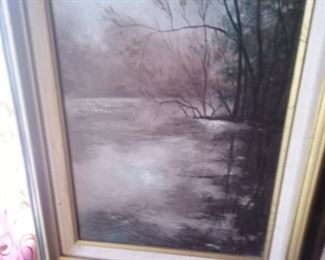 We have several paintings