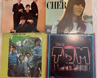 Vintage Albums including The Beatles