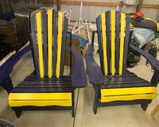 U of M outdoor chairs