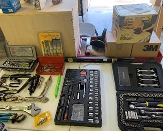 Socket sets, hand tools,