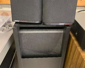 Bose speakers and amp