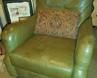 "Leather ""Stickley"" Recliner from Porters"