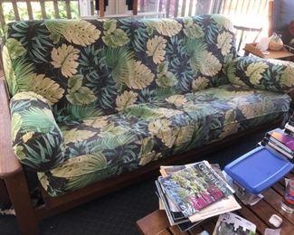 Teak futon