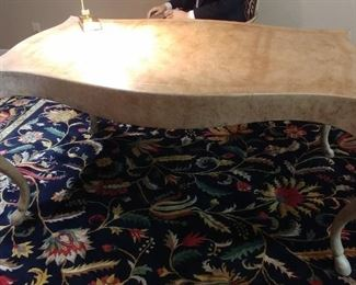 """50% OFF TODAY! Modern Hip Desk with Mottled Finish 65"""" wide by 39"""" by 29.5"""" Asking $799.00"""