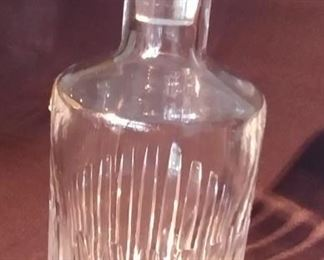 """50% OFF TODAY! Baccarat Decanter Harmonie 4"""" by 10.5"""" Asking $695.00"""