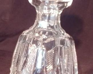 """50% OFF TODAY! Waterford Decanter 4"""" by 10.5"""" Asking $199.00"""