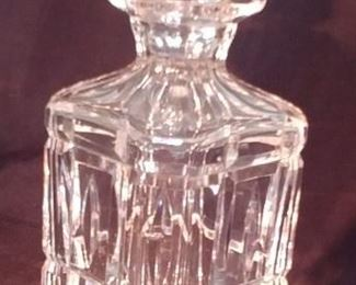 """50% OFF TODAY! Waterford Decanter 3.5"""" by 10.25"""" Asking $149.00"""