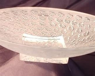 """50% OFF TODAY! Lalique Bowl Agadir 11.75"""" by 3"""" Asking $225.00"""