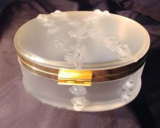 """50% OFF TODAY! Lalique Coppelia Box 7"""" by 3.5"""" by 6.5"""" Asking $599.00"""
