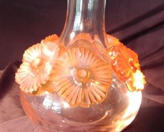 """50% OFF TODAY! Lalique Vase Atossa 6.5"""" by 7"""" Asking $429.00"""