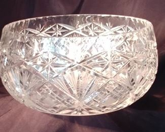 50% OFF TODAY! Crystal Bowl Asking $79.00